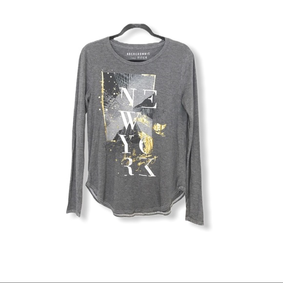 Abercrombie & Fitch New York T-Shirt Long Sleeves